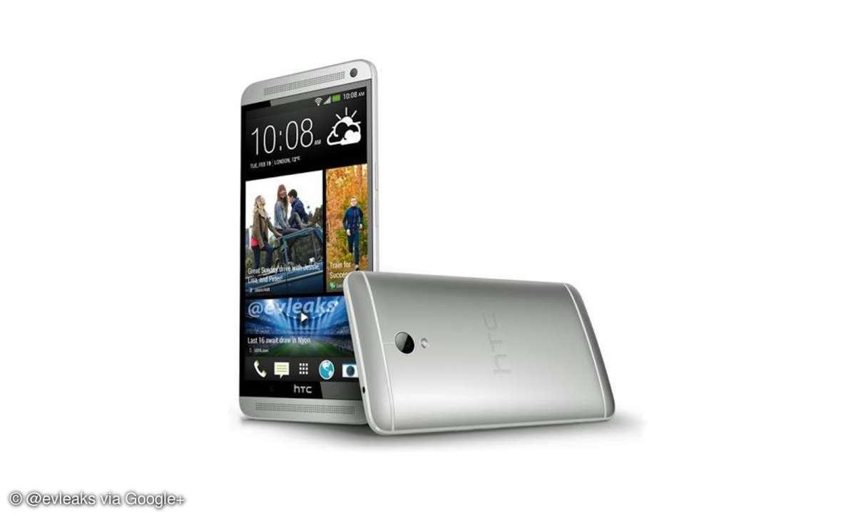 HTC dementiert angebliche Pressefotos des One Max.