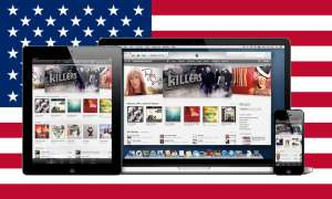 Apple MacBook, iPhone, iPad, USA-Flagge