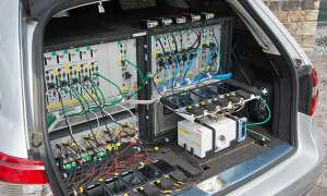 connect Mobilfunk-Netztest 2013 Messwagen
