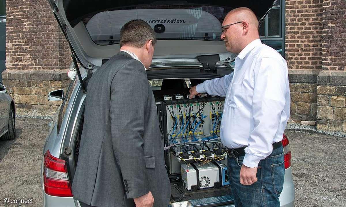 connect Mobilfunk-Netztest 2013: Messwagen