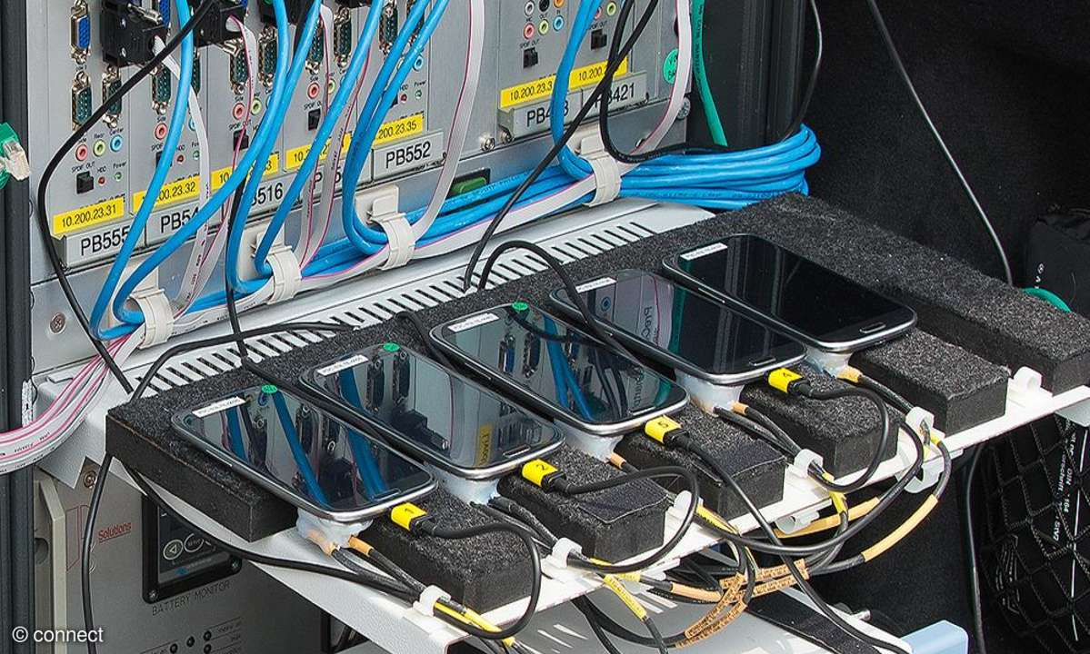 Mobilfunk-Netztest 2013: Testequipment