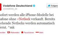 Vodafone,Netlock,iPhone