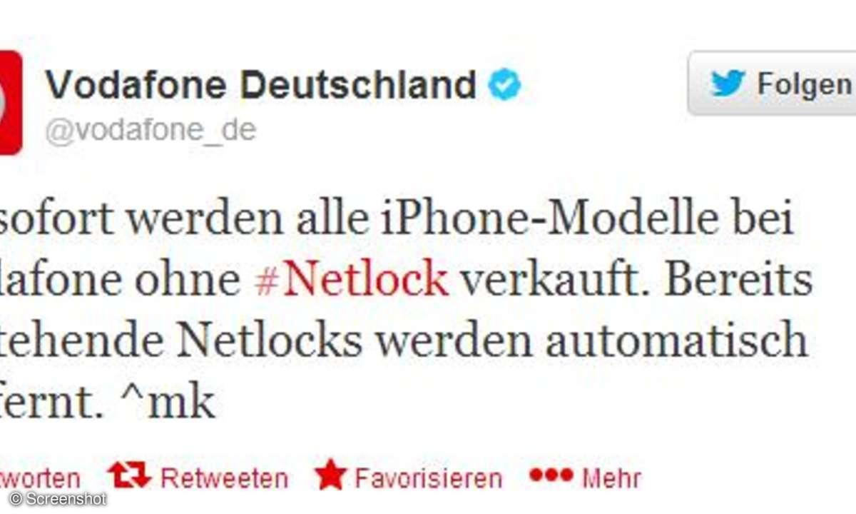 Vodafone,Netlock,iPhone
