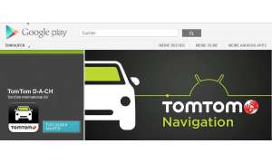Tomtom App für Android, Navi-App