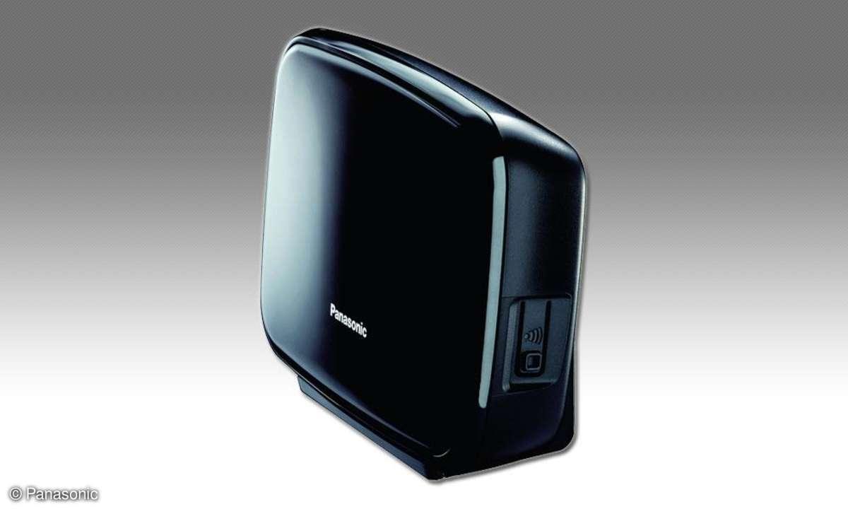 panasonic, kx-prx150, hybrid, smartphone, festnetz, basisstation