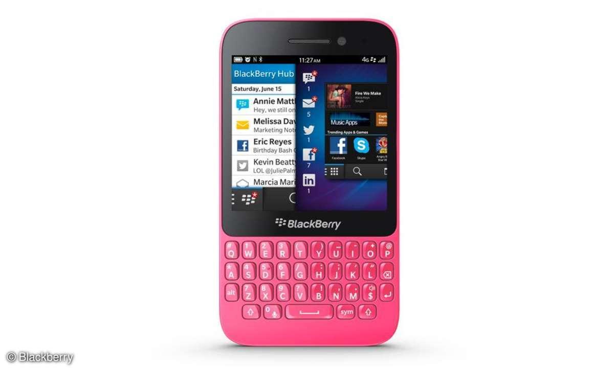 Blackberry Q5,pink