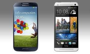Galaxy S4 HTC One