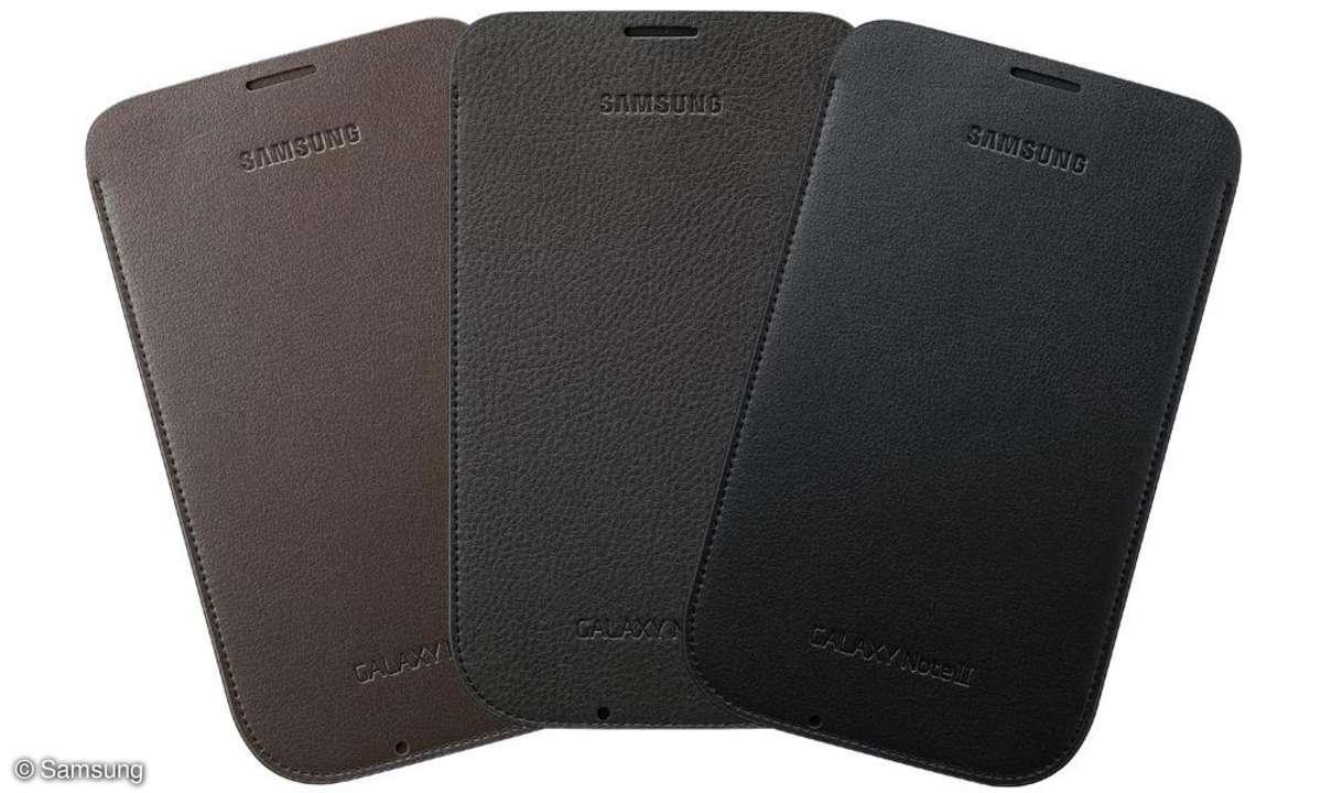 Samsung Galaxy Note 2 - Ledertasche