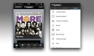 TuneIn Radio Display