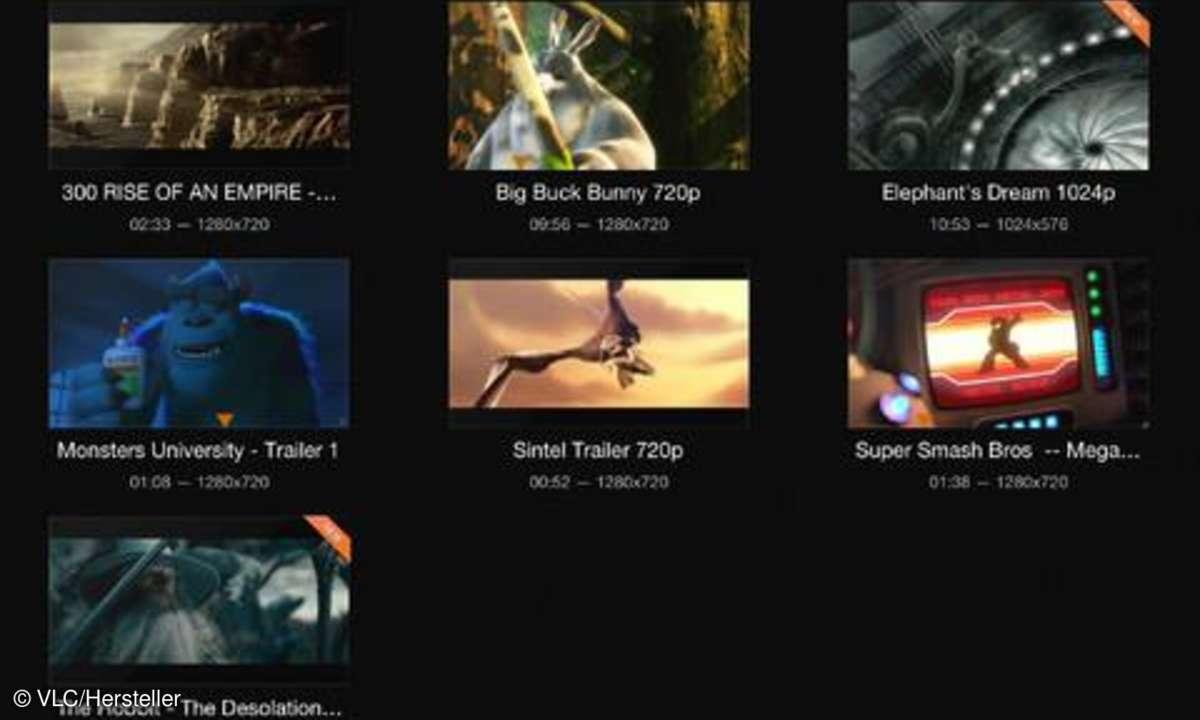 VLC Mediaplayer für iPad
