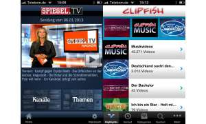 Spiegel.TV/Clipfish auf dem iPad