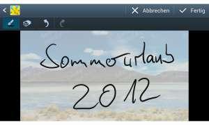 Samsung Galaxy Note 2: Fotonotiz