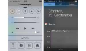 Apple, iOS7, konfigurieren, Screenshot