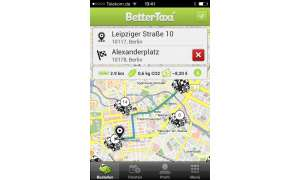 BetterTaxi iPhone