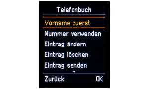 Gigaset E630A Telefonbuch