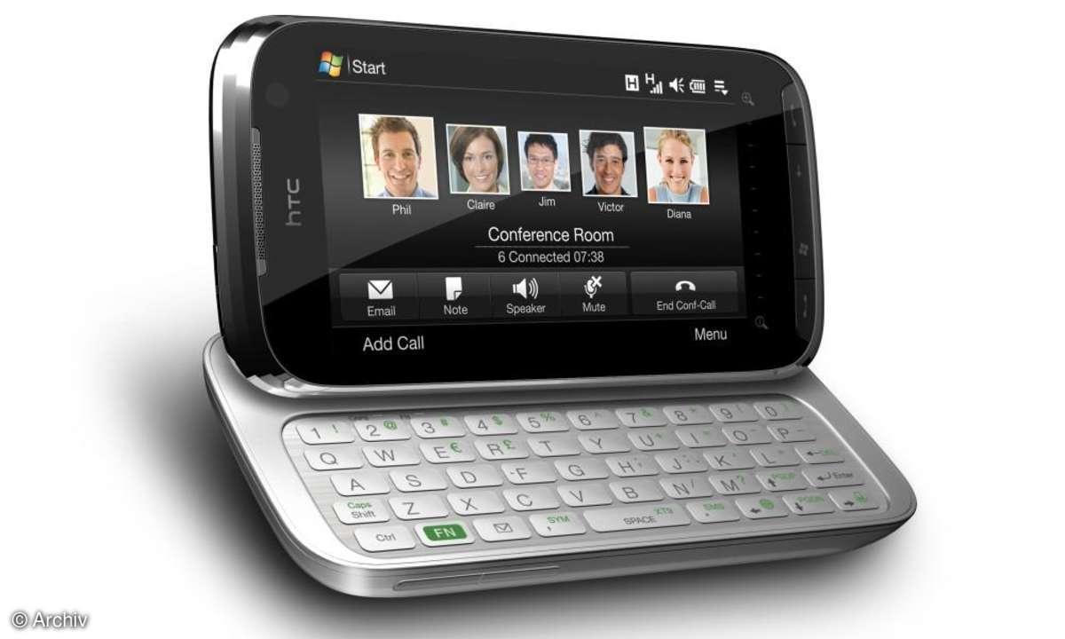 HTC Touch Pro2 mit neuem Bedienkonzept