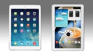 Apple,iPad Air,Samsung,Galaxy Note 10.1