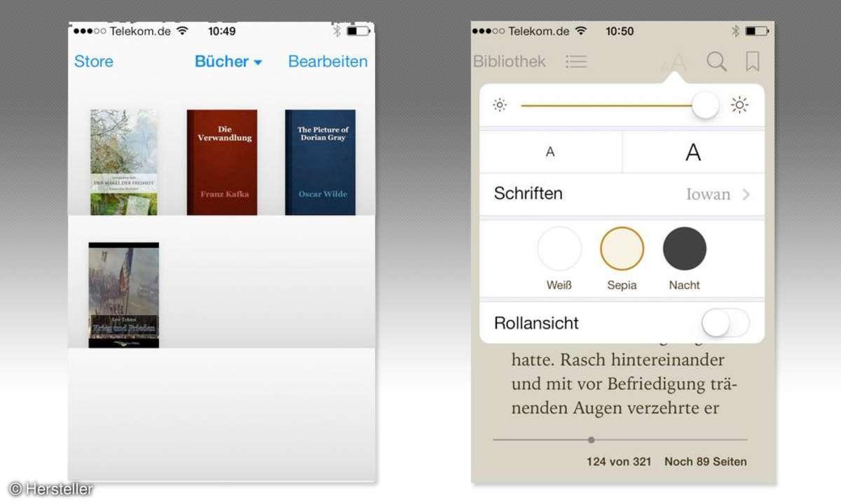 Smartphone,iPhone,E-Reader,Apps,iBooks