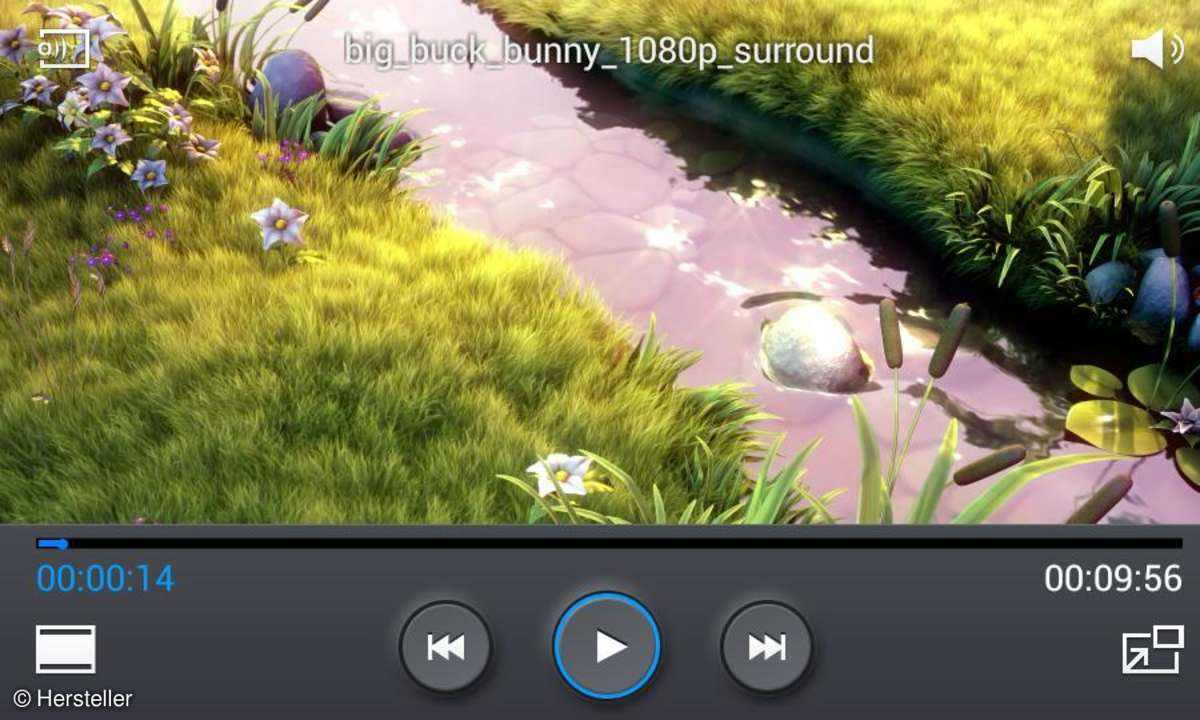 Samsung Videoplayer - Big Buck Bunny