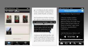 Reader (Sony), Thalia, iBooks