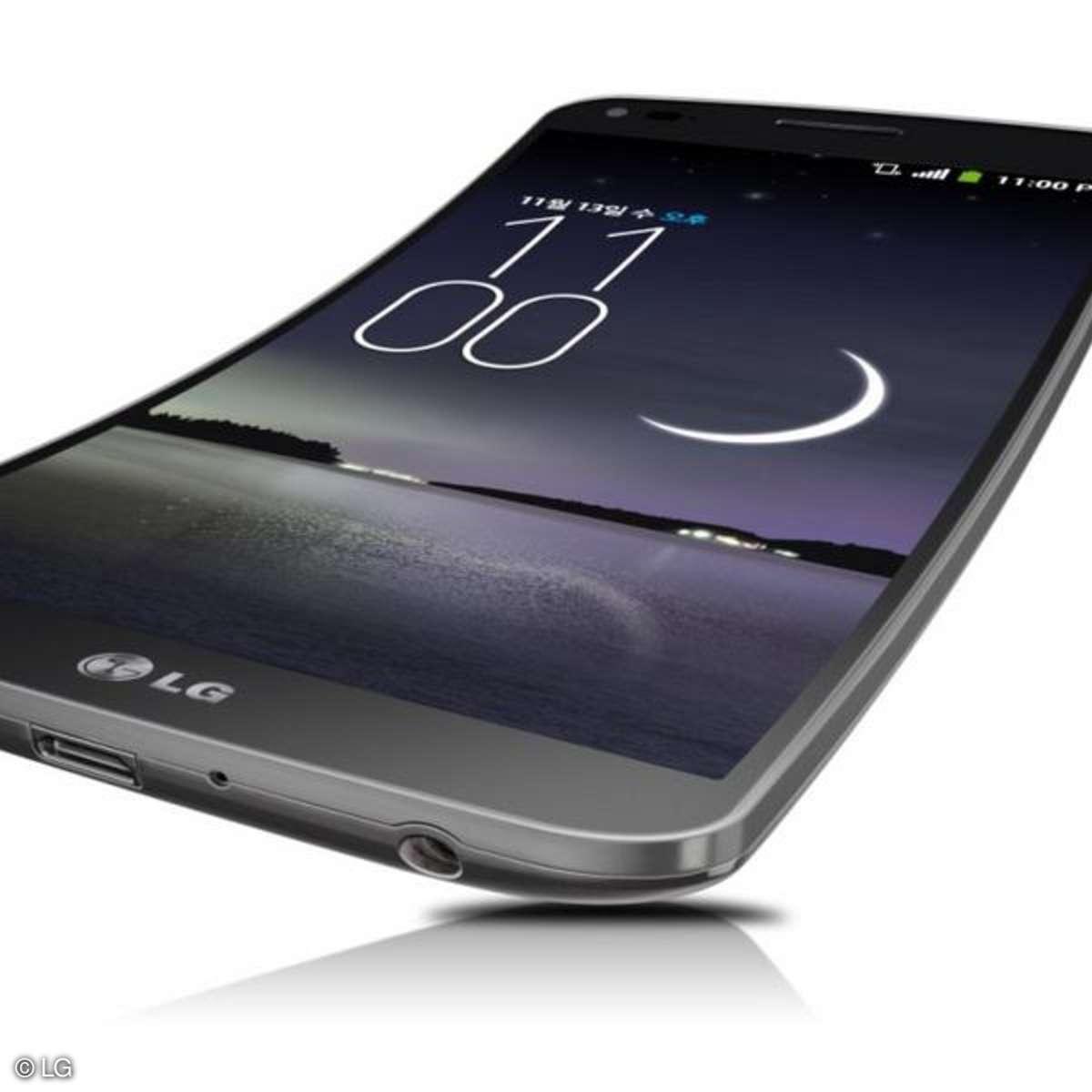 LG G Flex,  Curved-Display, Smartphone, LG