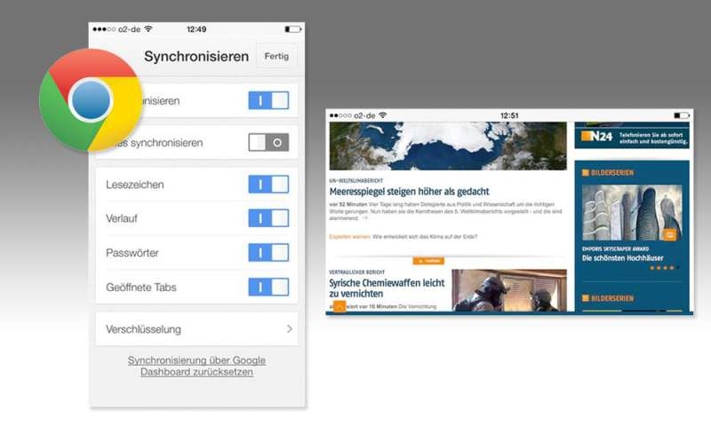 Google Chrome Browser für Android & iOS im Test - connect
