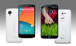 LG G2, Google Nexus 5