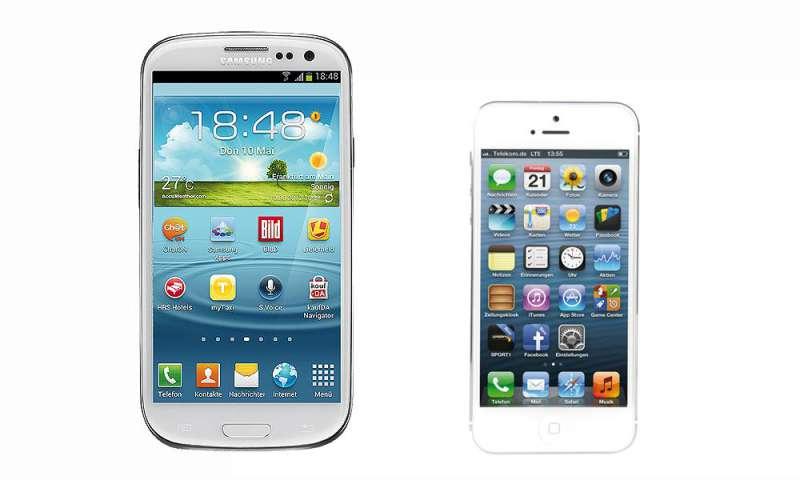 VERGLEICH SAMSUNG GALAXY 3 NEO IPHONE 5