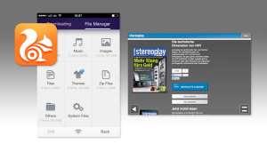 Browser App, UC Browser, Screenshot
