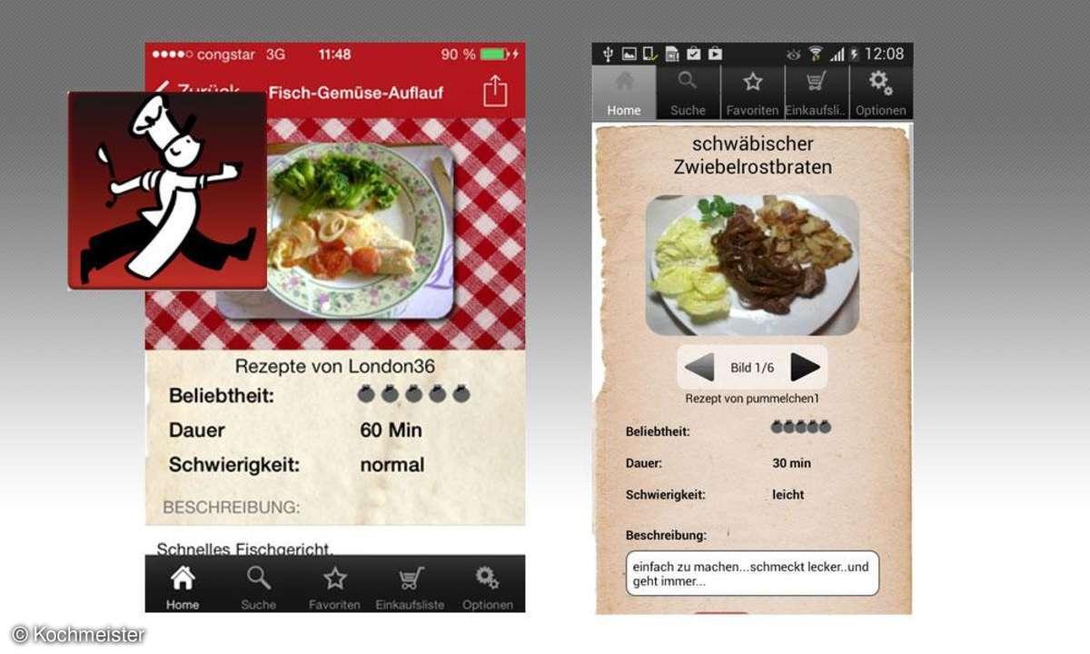 Koch-Apps, Kochmeister