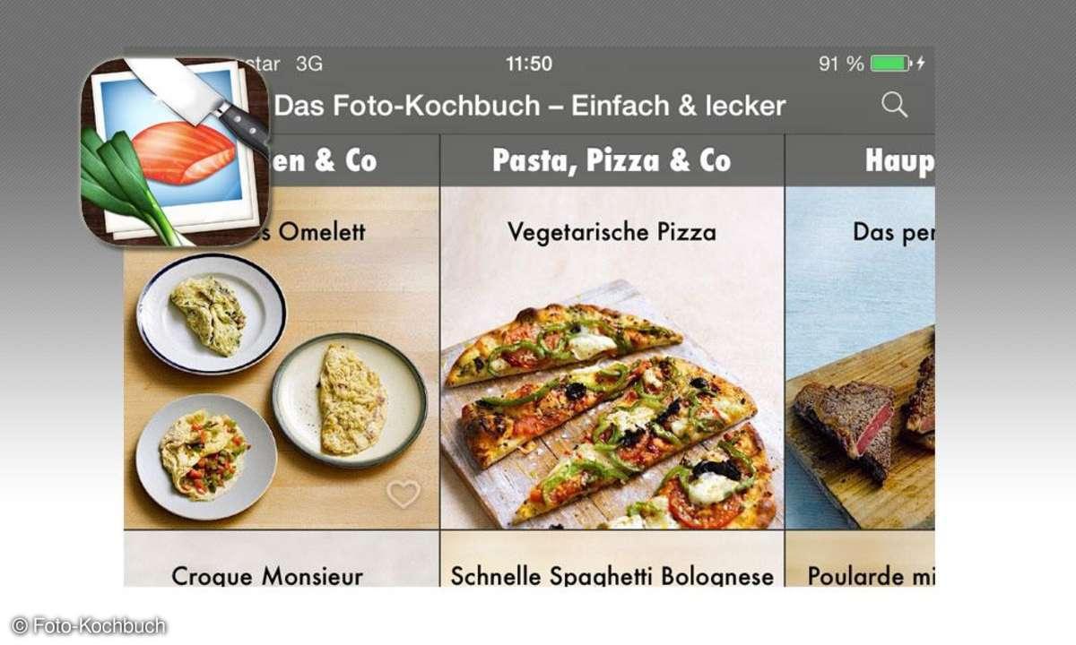 Koch-Apps, Foto-Kochbuch, Logo