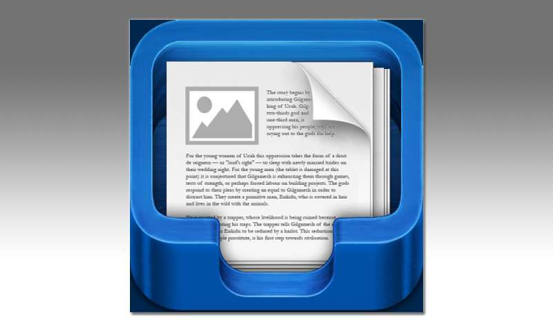File Manager by Tap Media in the Test