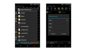Dateimanager-App File Manager von Rythm Software Screenshot