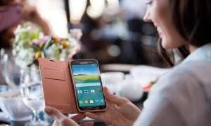 Samsung,Galaxy S5,Flip Cover