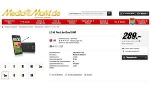 Mediamarkt,LG G Pro Lite