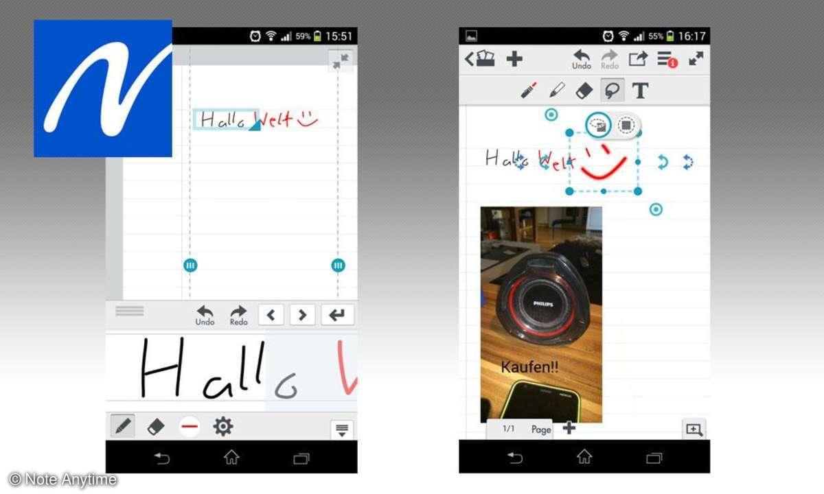 Notiz-App: Note Anytime im Test - die vielseitige To-Do-App