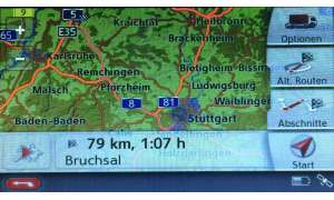 Navigationsroute