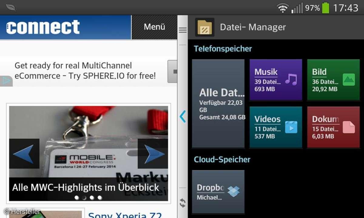 LG G Flex - Multitasking