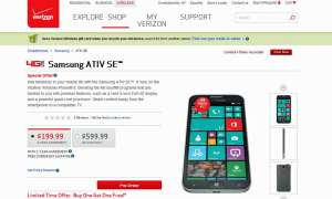 Samsung Ativ SE,Verizon