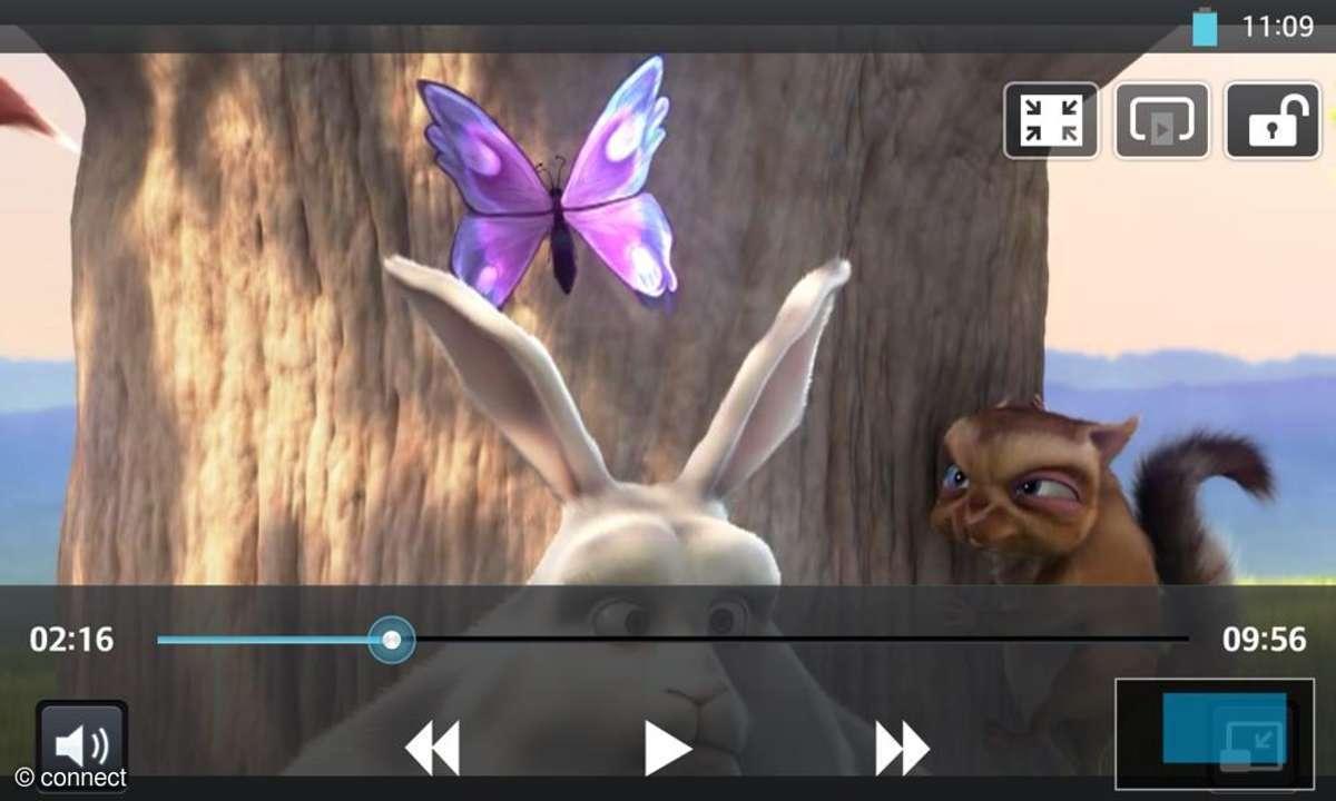 LG Optimus G - Videoplayer