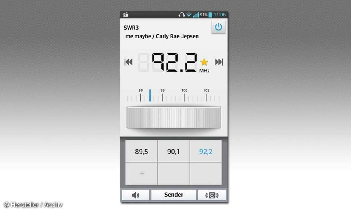 LG L9 II D605 UKW-Empfänger