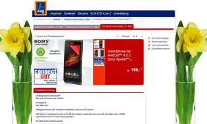 Sony Xperia L,Aldi,Aldi Süd, Aktion