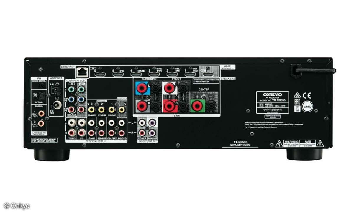 Onkyo AV-Receiver NR535