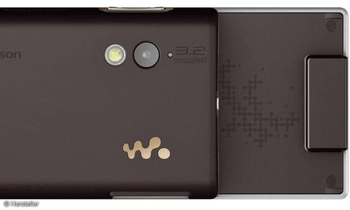 Sony Ericsson W705 Kamera