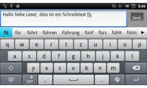 Qwertz-Tastatur