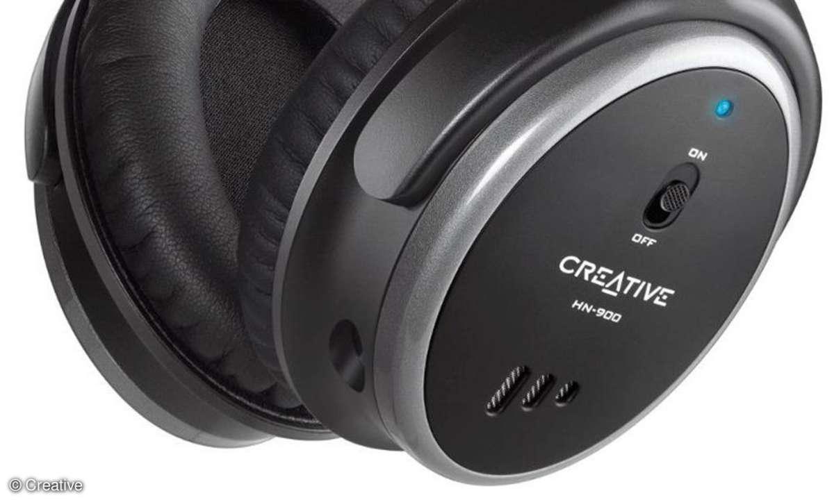 Creative Noise-Cancelling-Kopfhörer