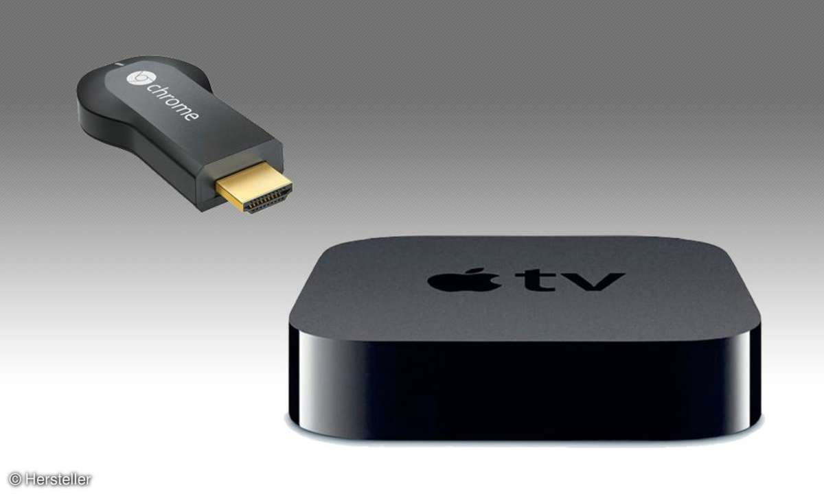 Google Chromecast, Apple TV