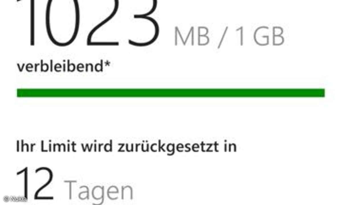 Nokia Lumia 925 - Data Sense